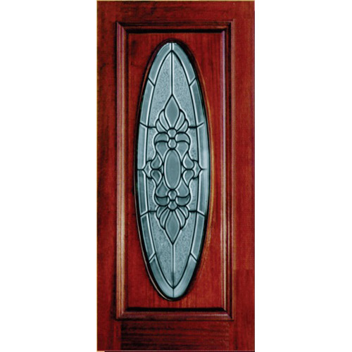 Discount Mahogany Doors Full Oval Ad208